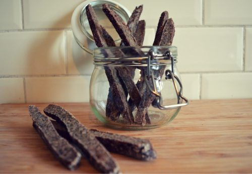 sticks au foie de boeuf - dog's kitchen - alimentation chien friandises
